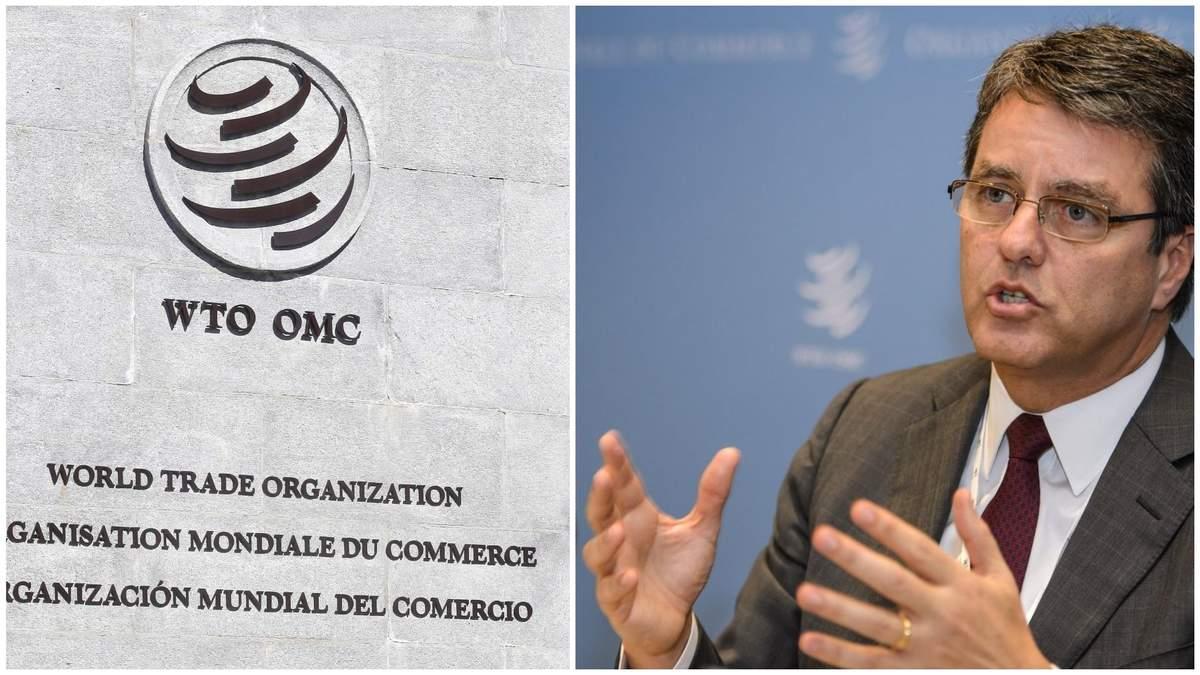 На тлі світової кризи голова СОТ оголосив про дострокову відставку