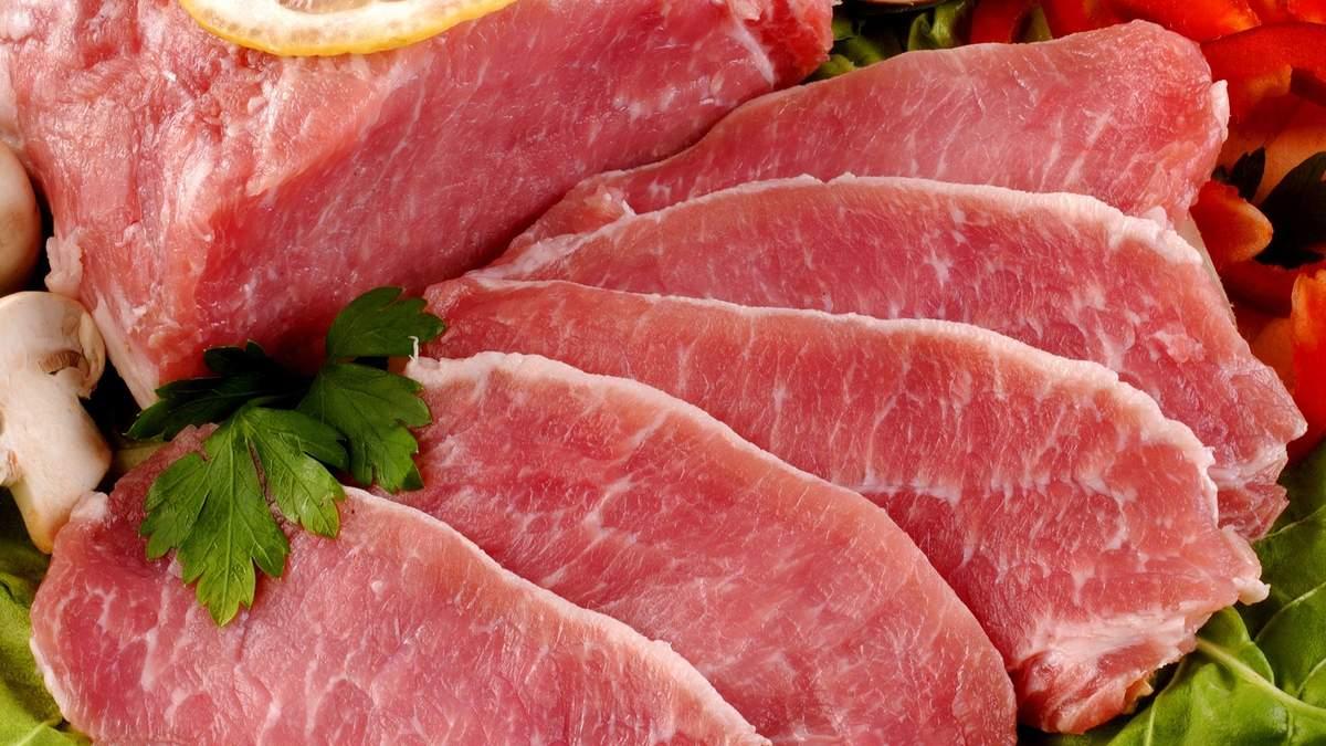 На м'ясо  ціна нестабільна