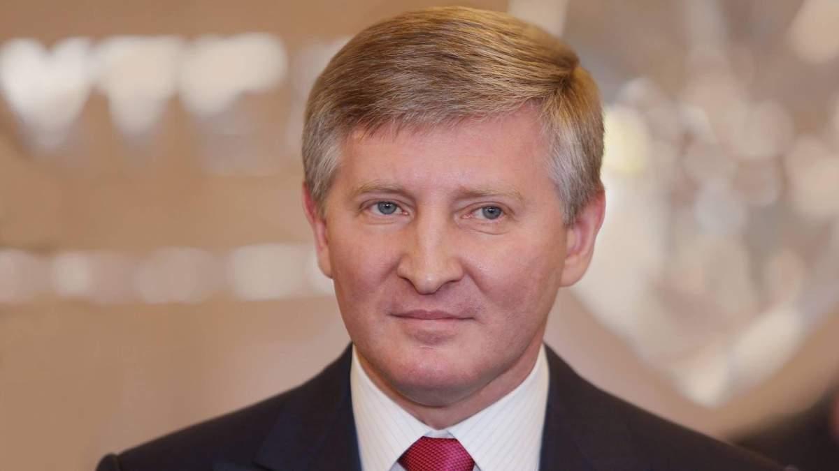 Ринат Ахметов возглавил список самых богатых украинцев Forbes