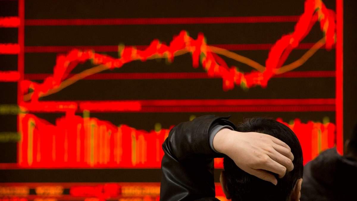 Азійські ринки падають, Волл-стріт відновлюється - 24 Канал