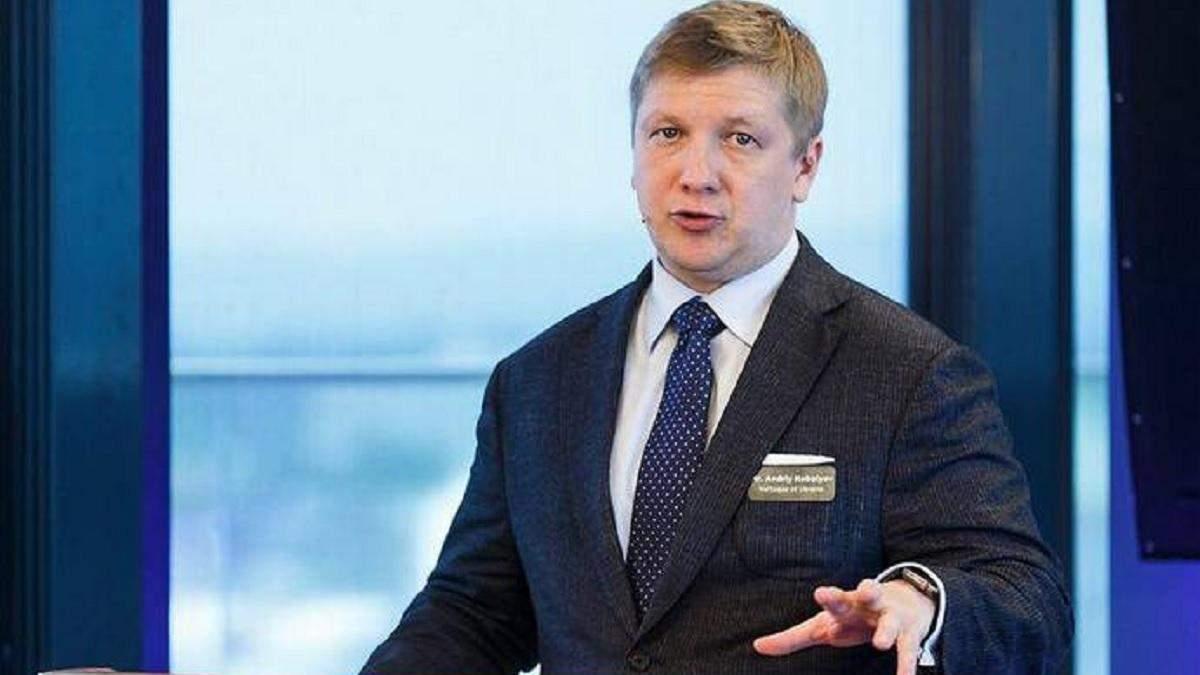 Коболєв заявив про збільшення запасів газу у сховищах