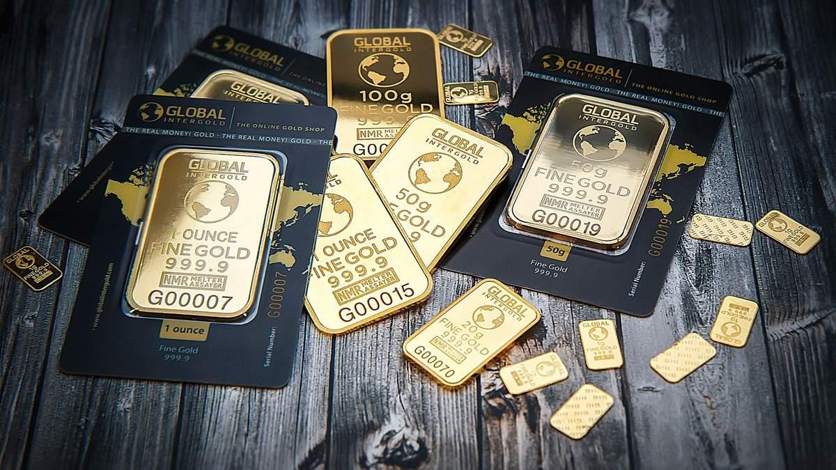 Ціна золота 29 червня 2020 року – золото подорожчало