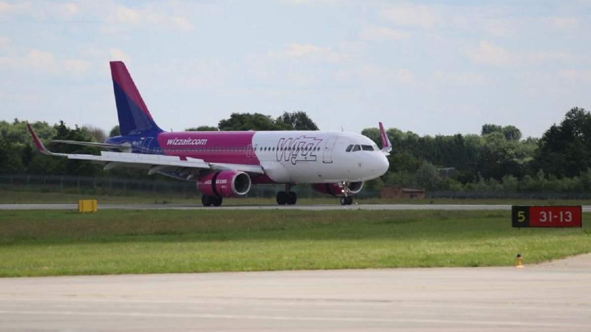 WizzAir відрив у Львові базу та нові напрямки 1 липня 2020