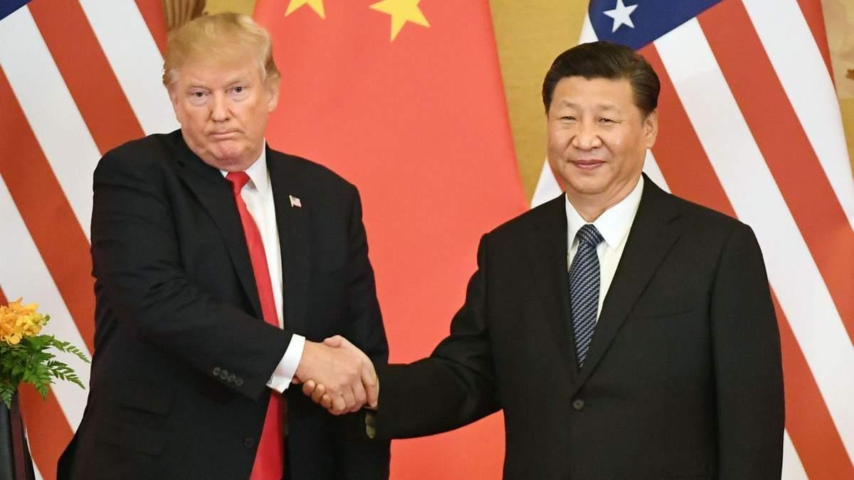 Торговельна угода з Китаєм не в пріоритеті: Трамп прокоментував відносини країн