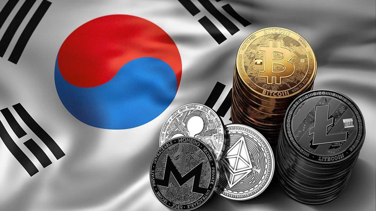 Податок на криптовалюту в Південній Кореї 2020: підвищать до 20%