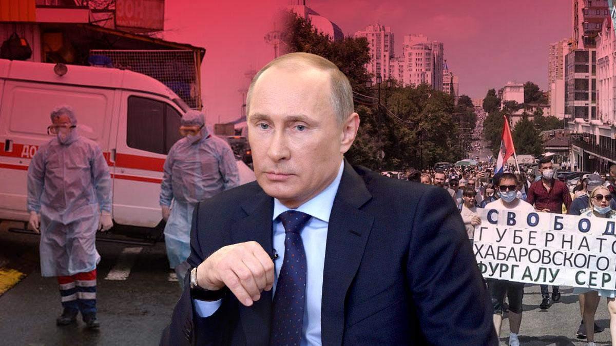 Пандемія, протести, обнуління Путіна: коли чекати падіння останньої імперії