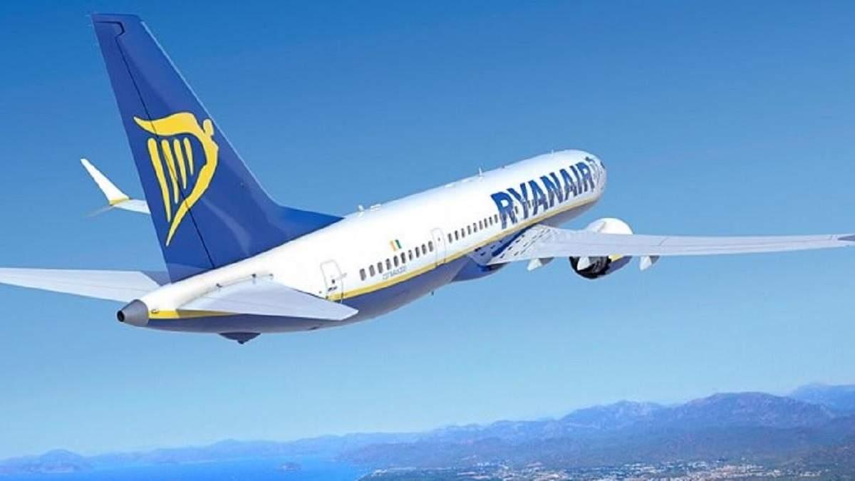 Ryanair скоротить осінні рейси на 20%: причина