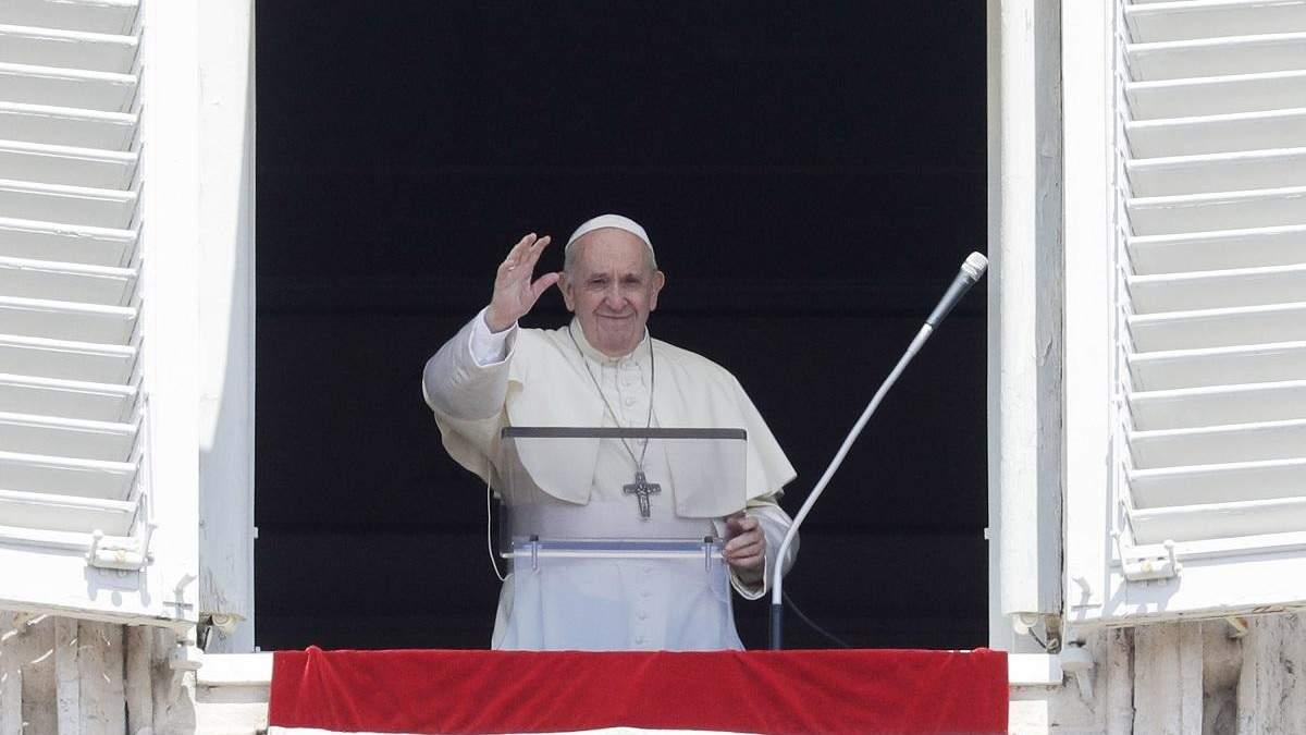 Папа Римський про вакцину від коронавірусу