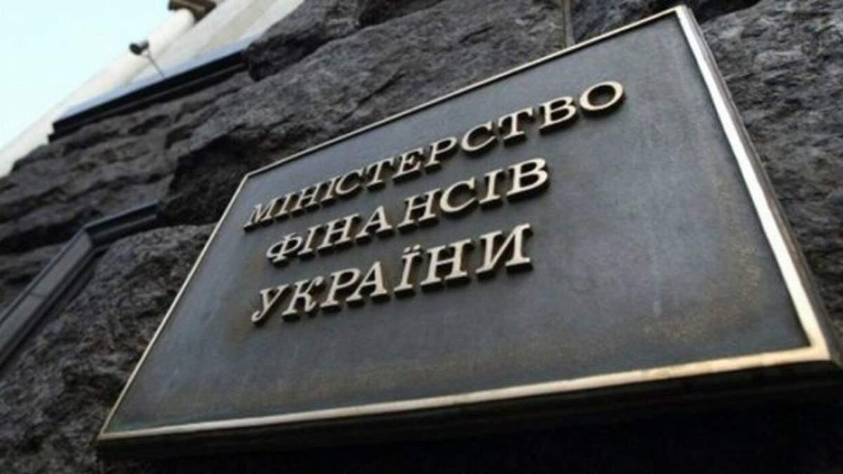 Минфин обнародовал данные по государственному долгу в Украине в июле