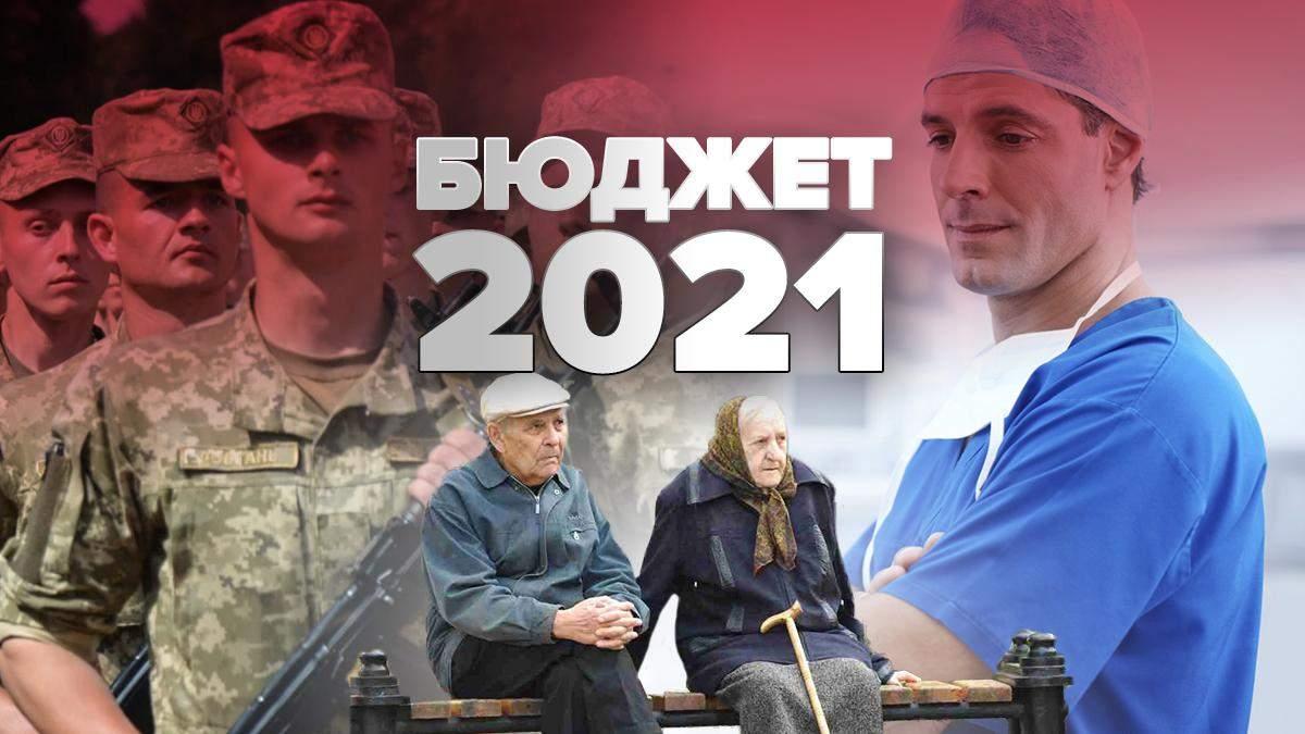 Бюджет 2021 Україна – соціальні виплати, пенсії, субсидії