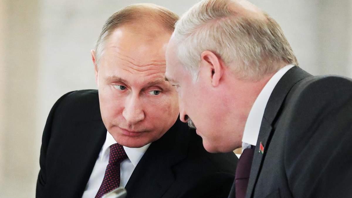 Путин и Лукашенко договорились о кредите в Сочи