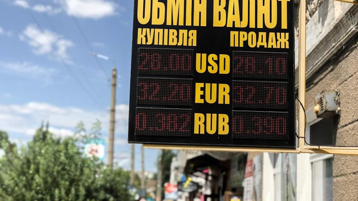 Курс долара до гривні в обмінниках сьогодні – 2 жовтня 2020