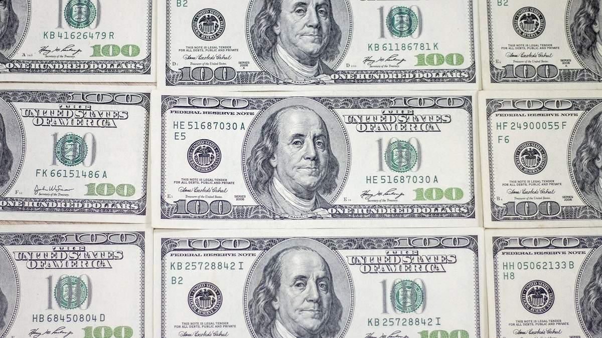 Готівковий курс валют 29 жовтня: долар підібрався до рекорду з часів коронавірусної паніки