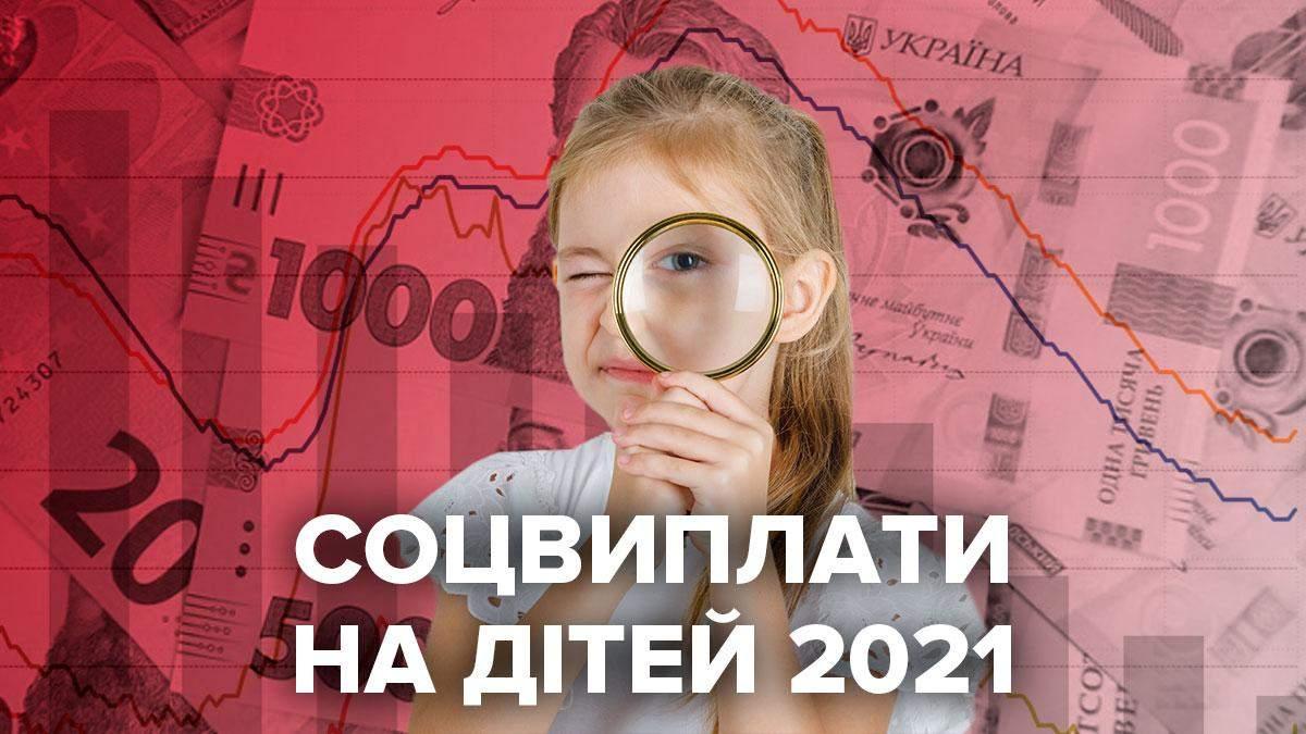 Соціальні виплати 2021 на дітей в Україні – все про виплати