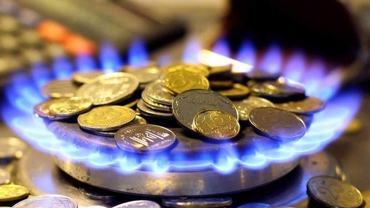 В декабре цена на газ для производителей тепла выросла на 873,28 гривны за 1 тысячу кубических метров
