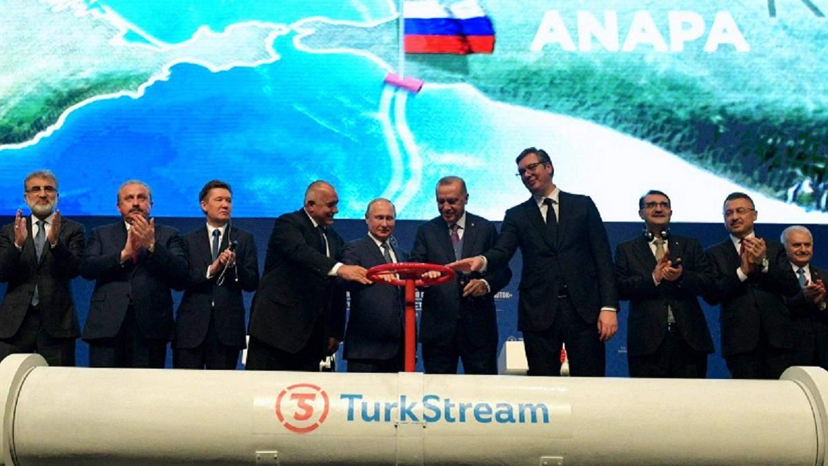 Сербия начала получать газ через Турецкий поток: детали