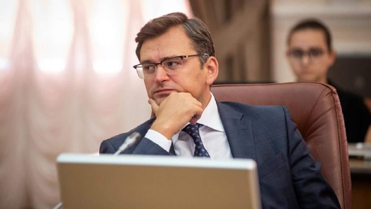 Україна планує від'єднатися від електромережі з Білоруссю і Росією до кінця 2023 року, – Кулеба