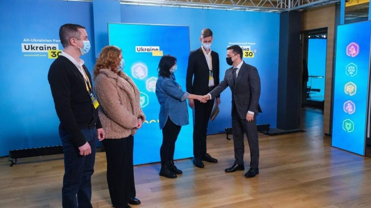 Зеленський особисто привітав перші сім'ї, які отримали іпотеки під 7%