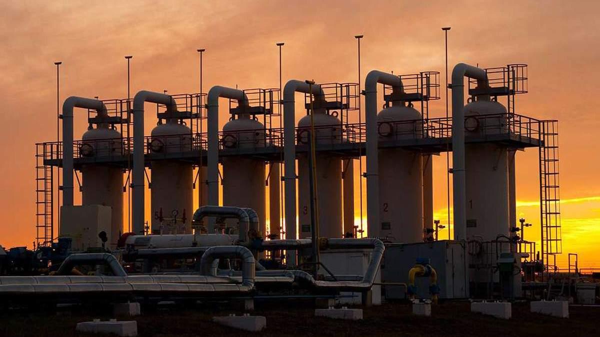 Станом на березень 2021 в українських газосховищах – рекордні запаси
