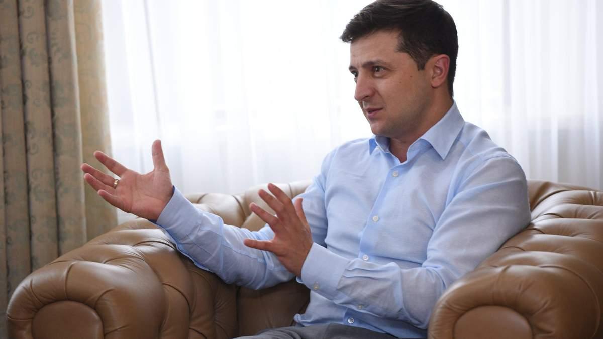 Налоговая декларация Владимира Зеленского за 2020 год