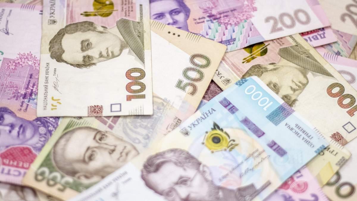 Оборот банкнот в Украине по состоянию на 1 апреля 2021 года