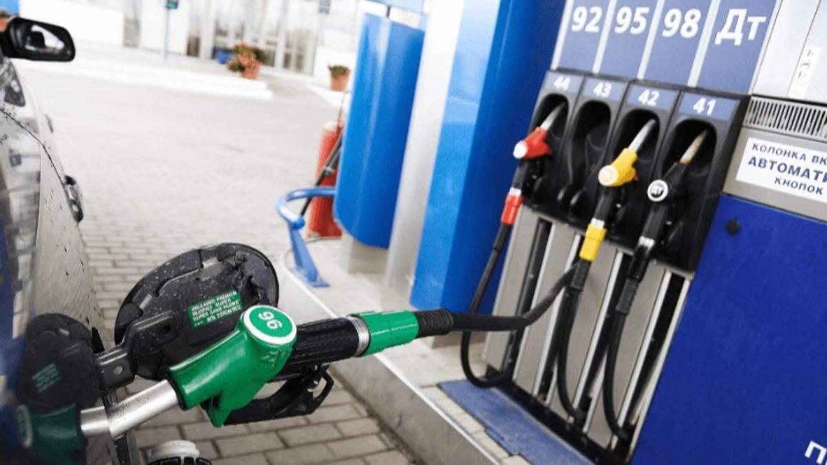 Крупные сети АЗС прекратили продажу дизтоплива и бензина А-95