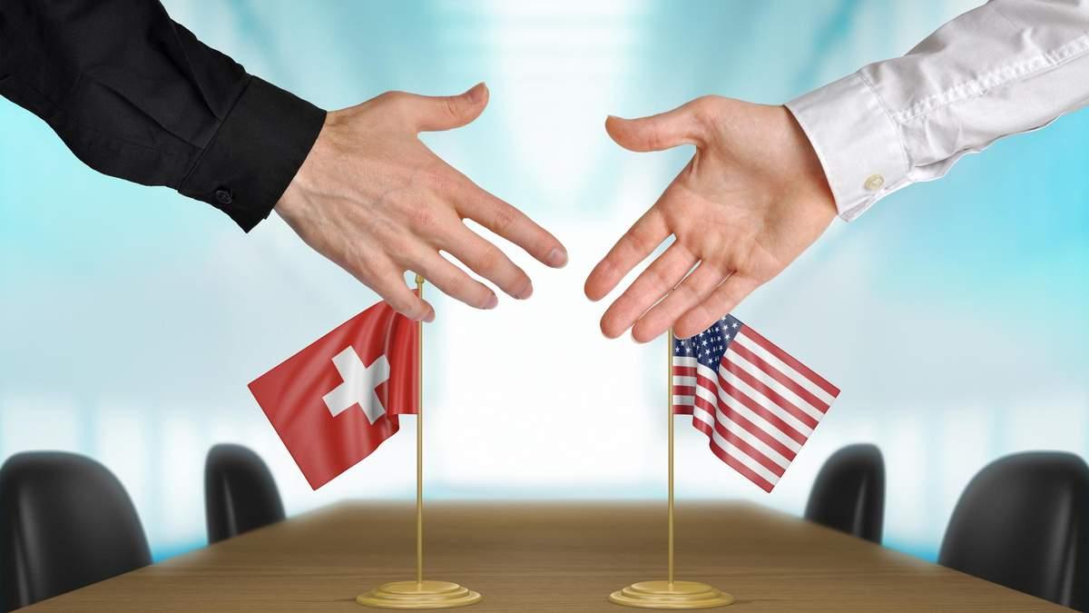 США виключили Швейцарію зі списку валютних маніпуляторів