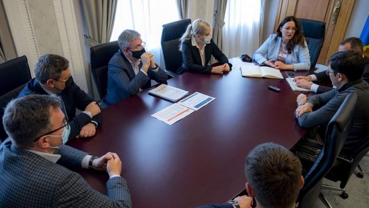 В Офисе Президента прошла встреча с операторами рынка нефтепродуктов