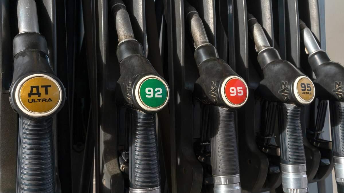 Вартість пального у червні