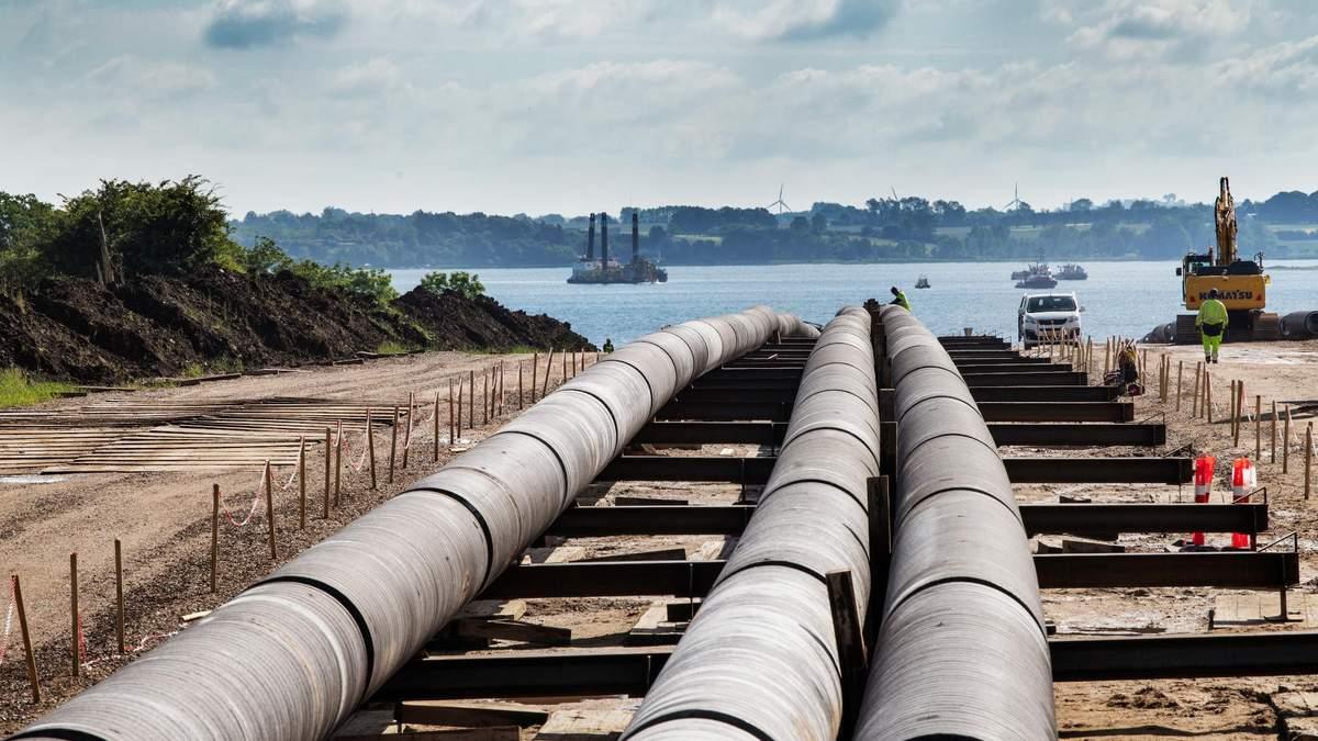 В Балтийском море начали прокладку газопровода Baltic Pipe
