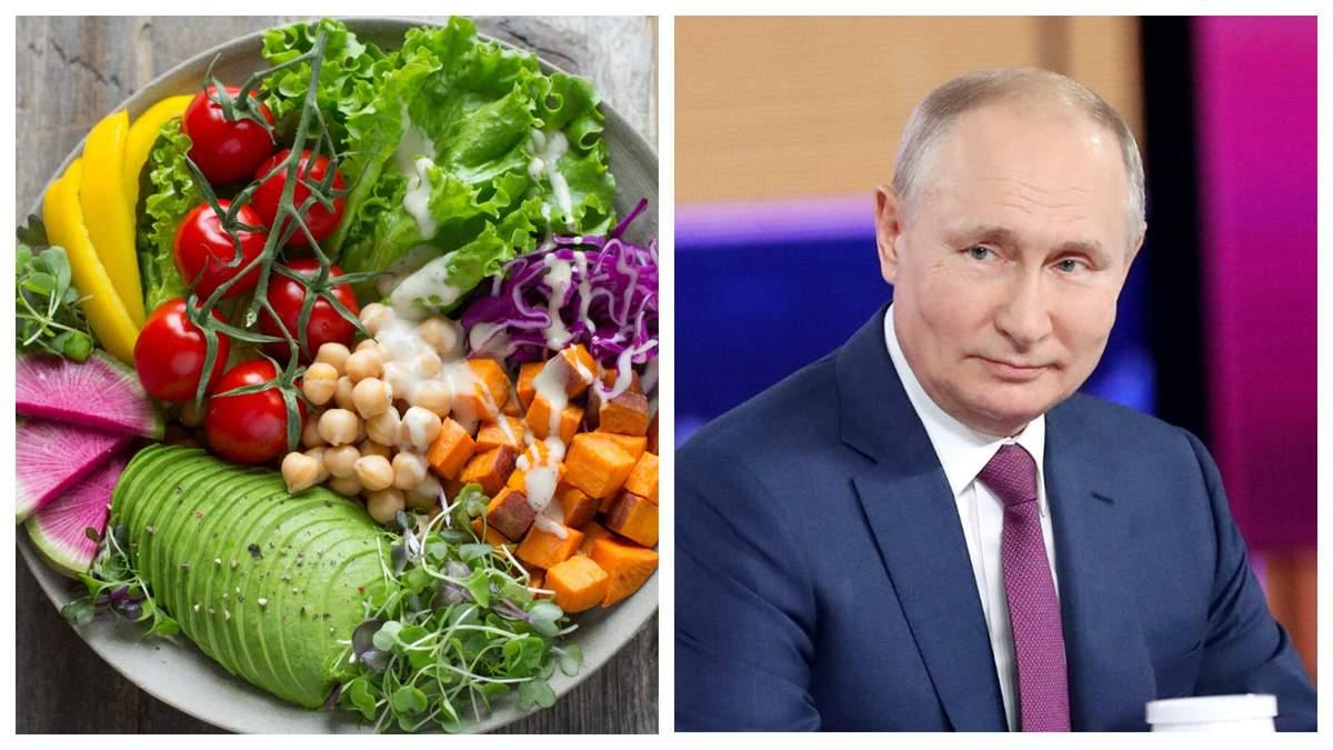 Росія доповнила список заборонених українських продуктів: чим саме
