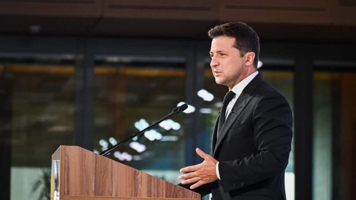 Зеленський про Північний потік-2: Україні потрібні гарантії