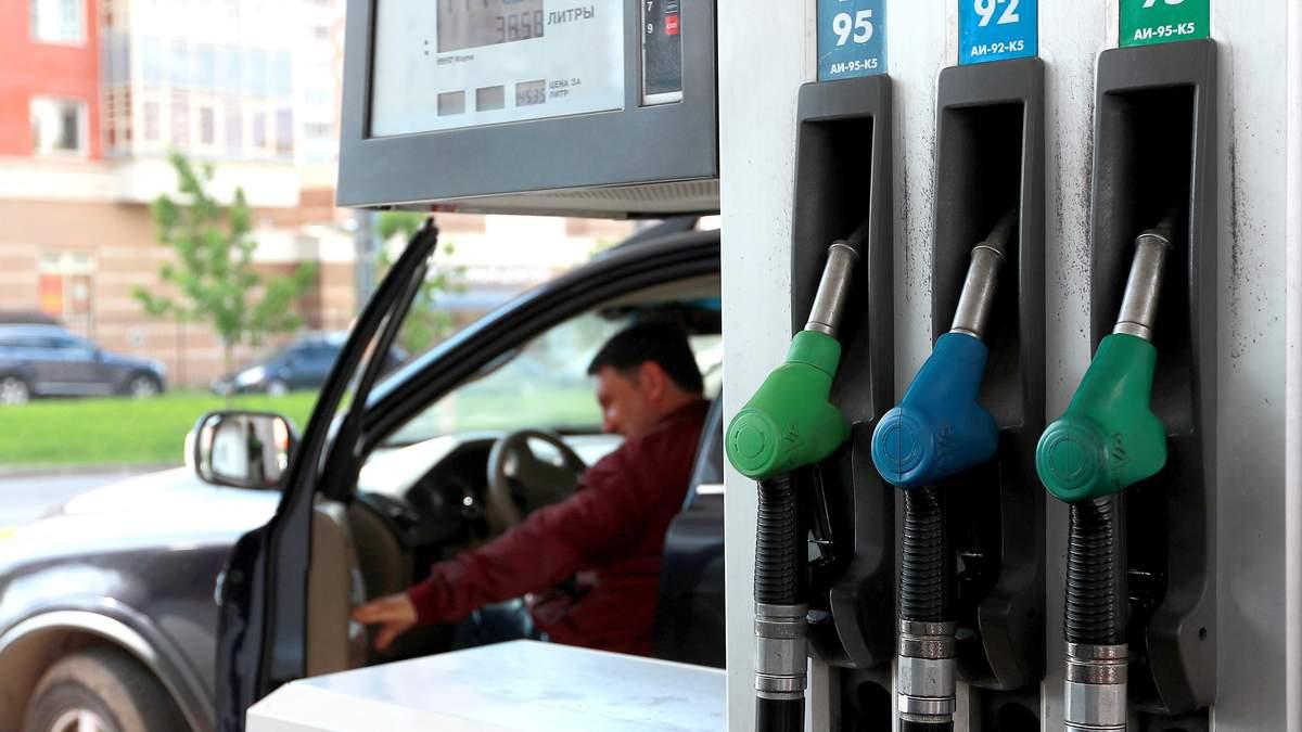 Вартість пального на АЗС
