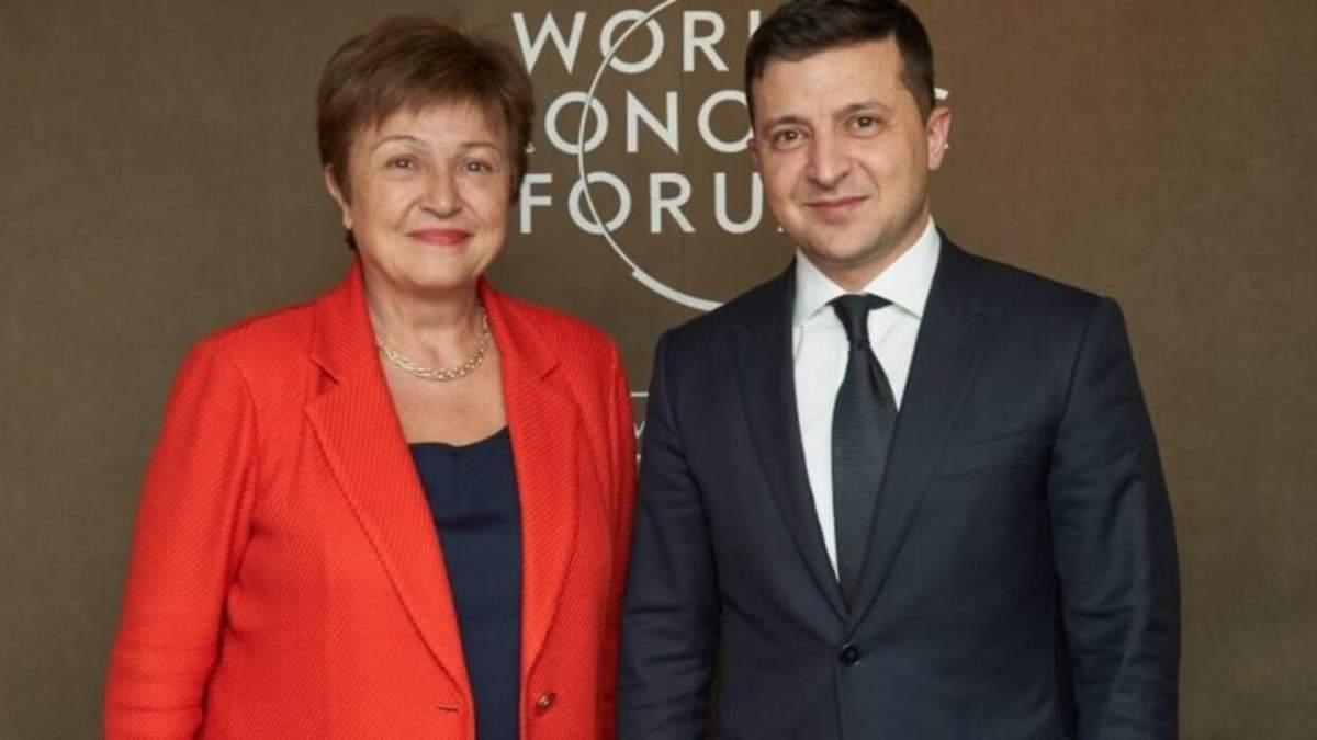 Зеленский провел переговоры с главой МВФ: главные темы
