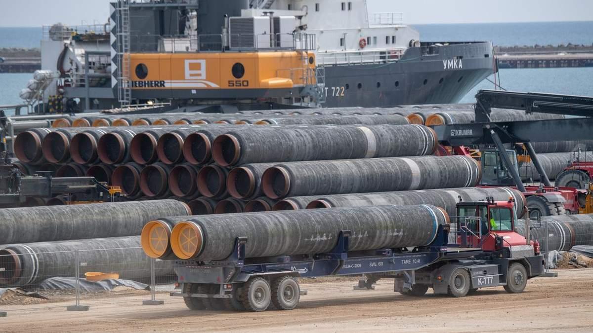 """Российский монополист перестал продавать газ Европе: при чем здесь """"Северный поток-2"""""""