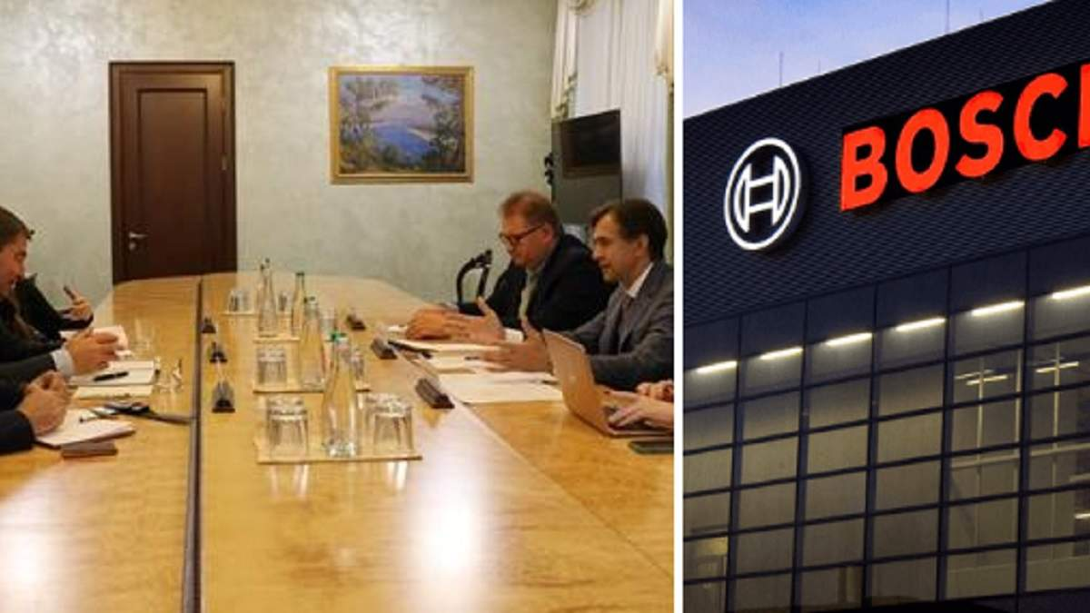 Bosch планирует запустить производство в Украине