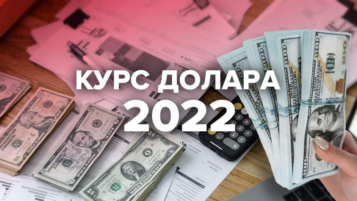 Який курс долара закладено в бюджет України 2022: прогноз