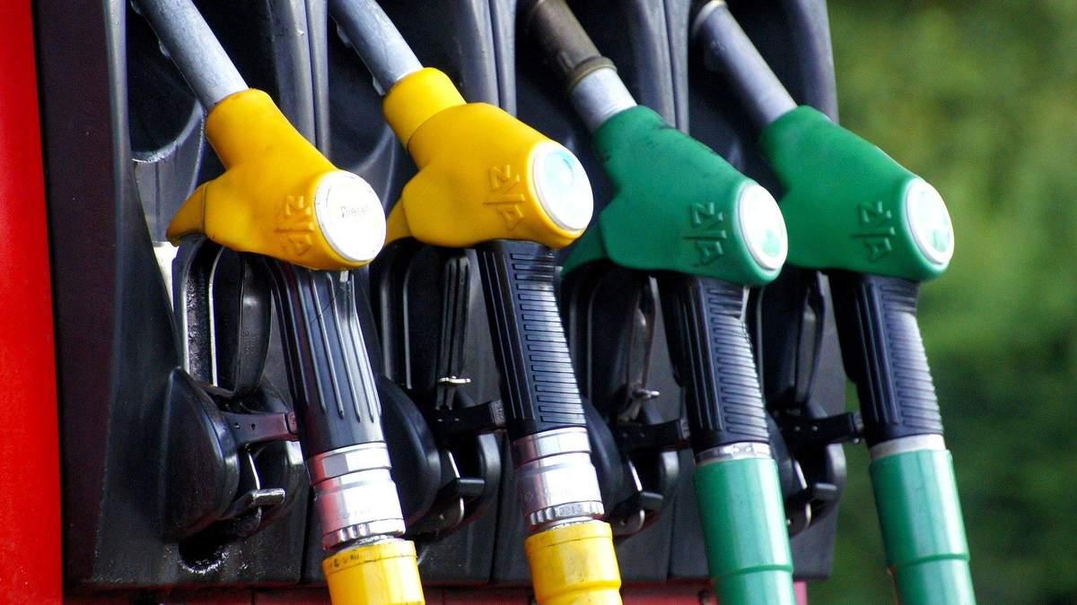 Цена топлива в Украине
