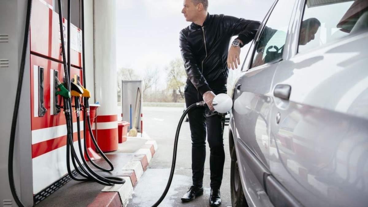 Цена топлива на АЗС