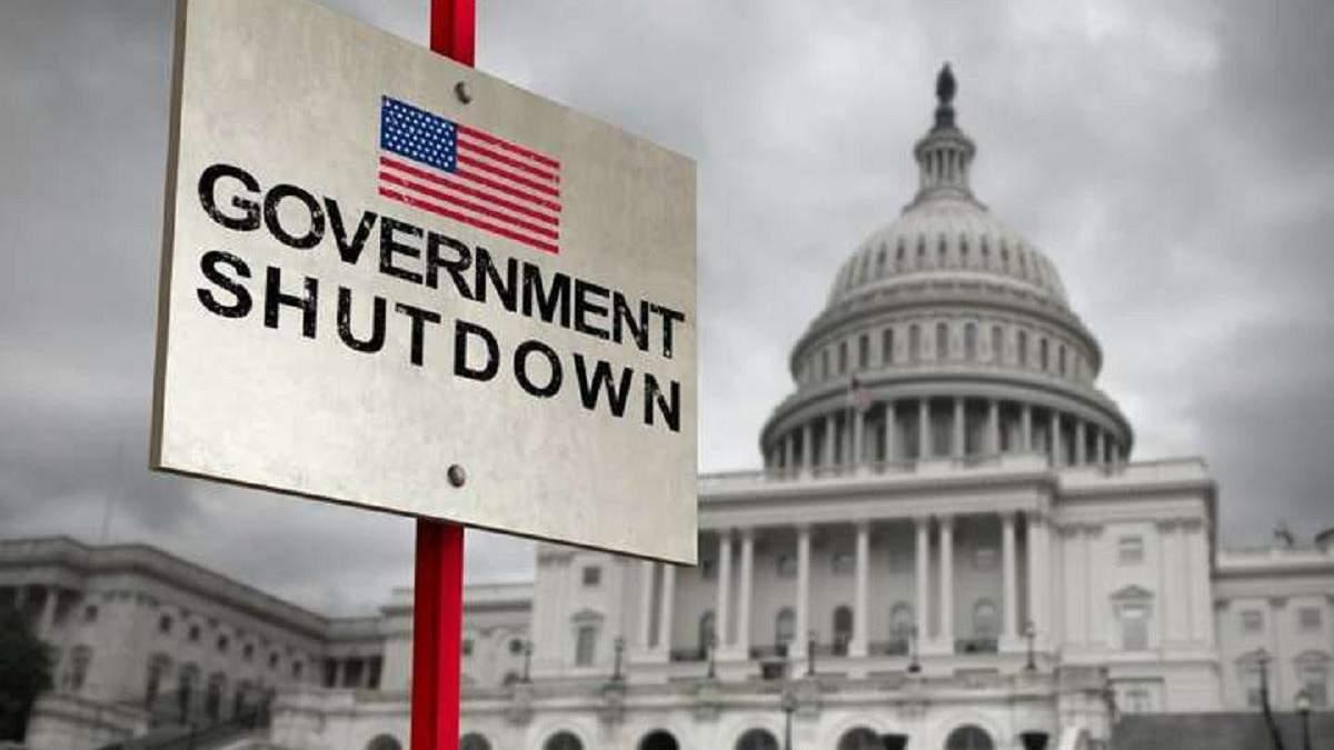 """США знову опинилися на мережі """"шатдауну"""": розглянуть короткостроковий бюджет - Економіка"""