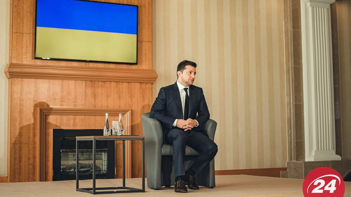 Зеленский рассказал, какая доля Донбасса и Крыма в Плане трансформации Украины
