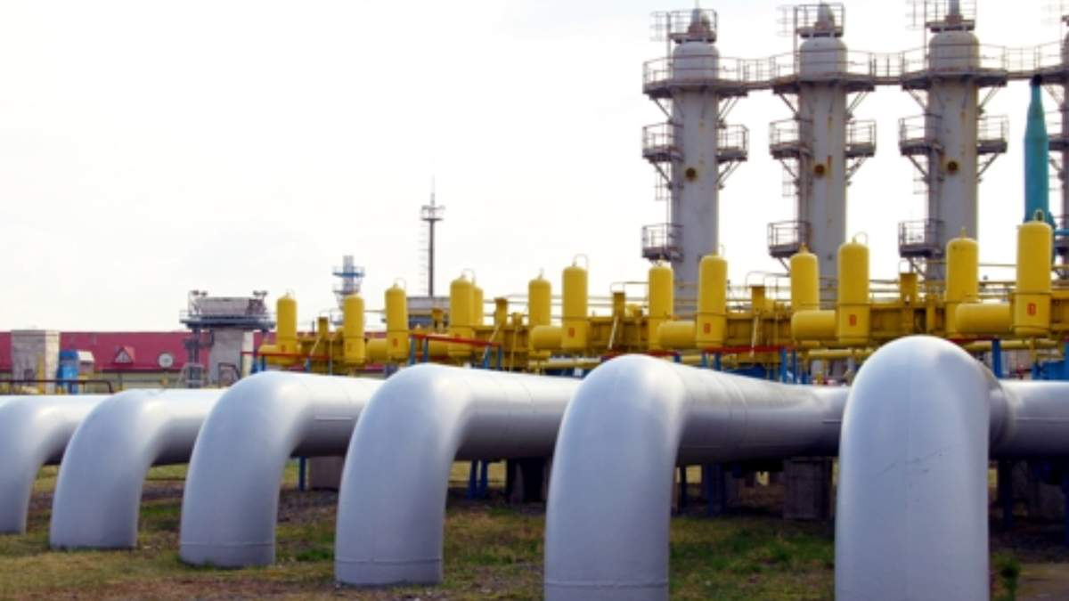 Україна призупинила закачування газу в підземні сховища - Економічні новини України - Економіка