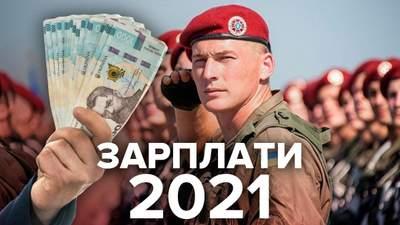 Зарплаты военных в 2021: размер повысили, тарифные разряды могут отменить