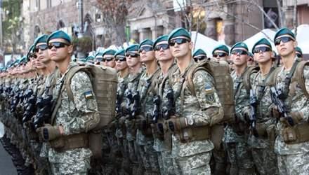 За укладання контракту з ЗСУ з 2021 року платитимуть від 18 тисяч гривень