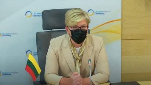 Украина отказалась покупать электроэнергию с Белорусской АЭС, – премьер Литвы
