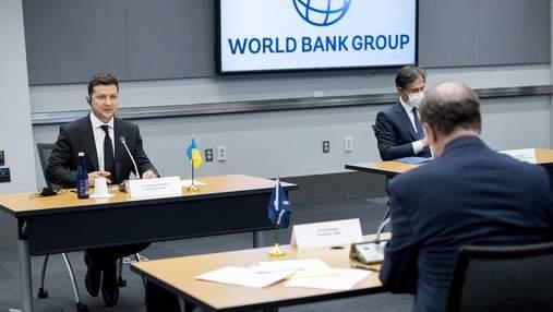 Зеленський зустрівся з главою Світового банку Малпассом: про що говорили